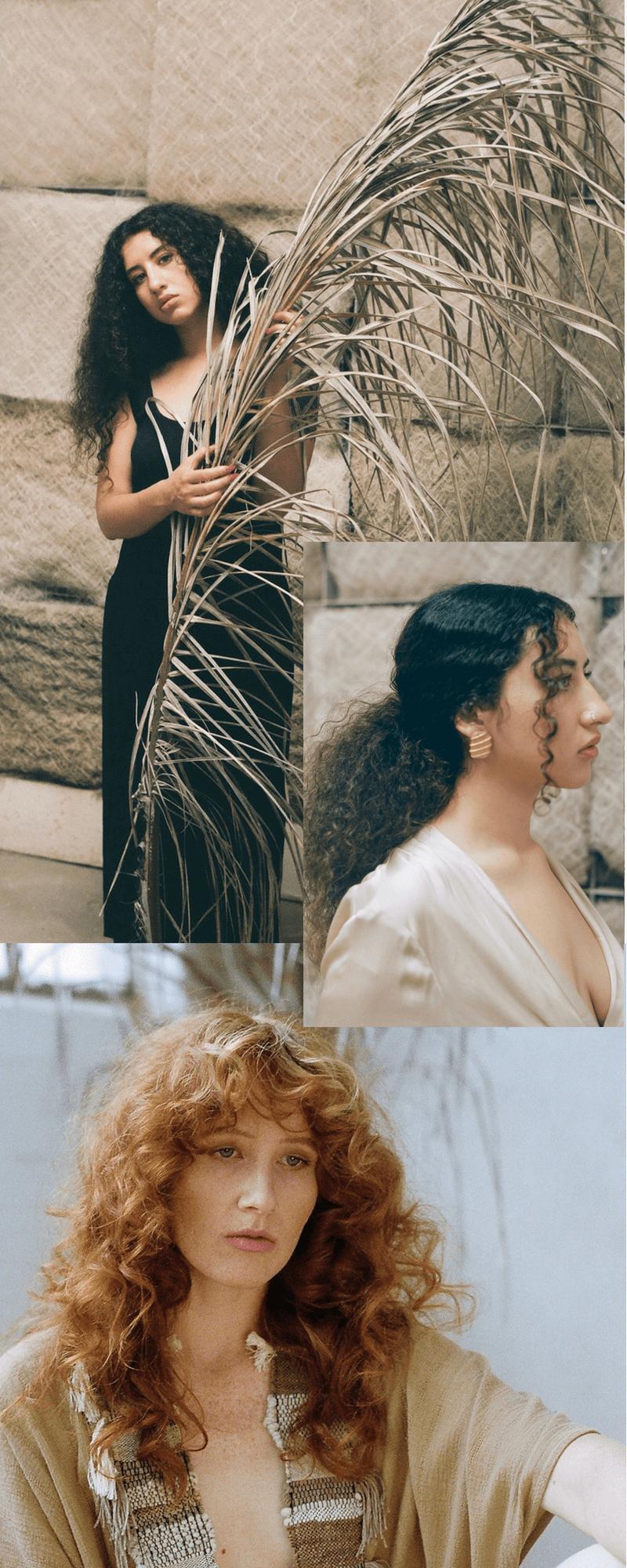 Armour Sans Anguish wovens and vintage fall 2017 lookbook hair by kiriko kikuchi