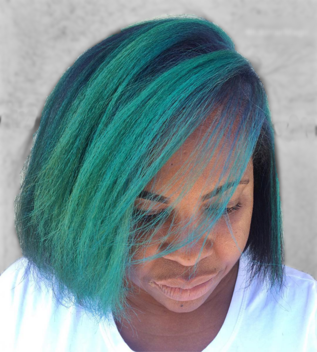 Rainbow Hair Color DIY Tips: Cool Colors #mermaidhair #bluehair #greenhair #purplehair