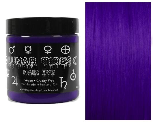 Lunar Tides Hair Dye in Nightshade deep purple