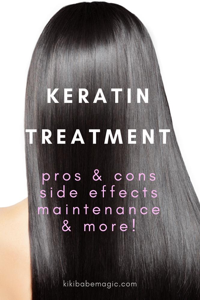 Keratin Treatment Pros and Cons