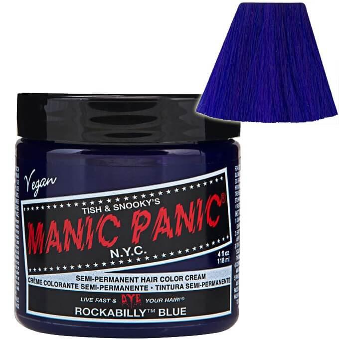 Manic Panic Semi-Permament Haircolor Rockabilly Blue