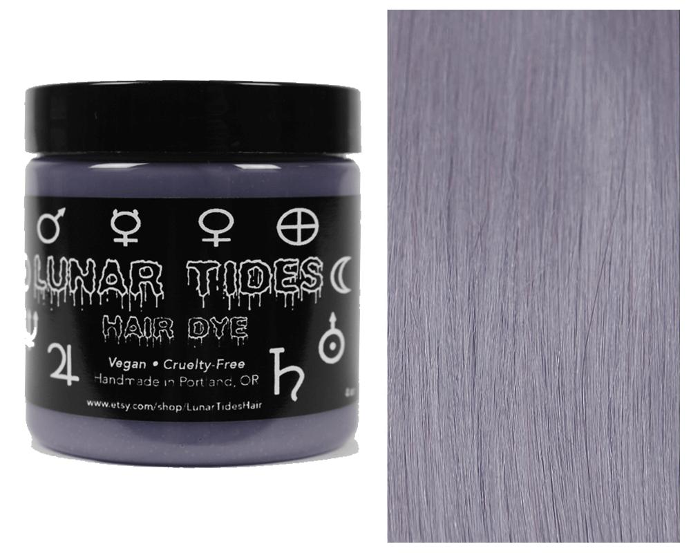 Lunar Tides Hair Dye - Silver Lining Semi-Permanent Vegan Hair Color