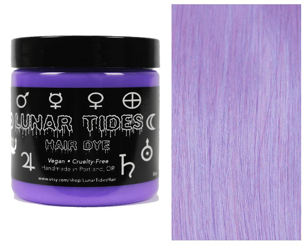 Lunar Tides Hair Dye - Iris Pastel Purple Semi-Permanent Vegan Hair Color