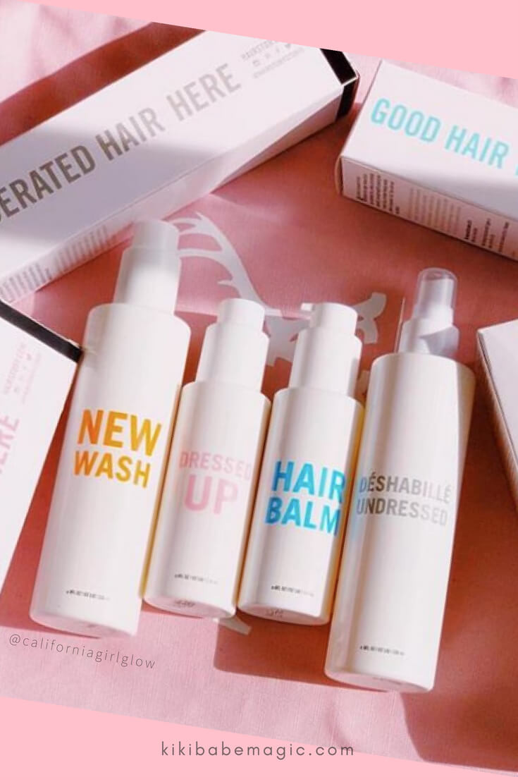 Hairstory: Full Product Line Review #haircare #hairstory #newwash #cowash