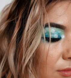 Makeup Bokeh Tropical Eye Tutorial