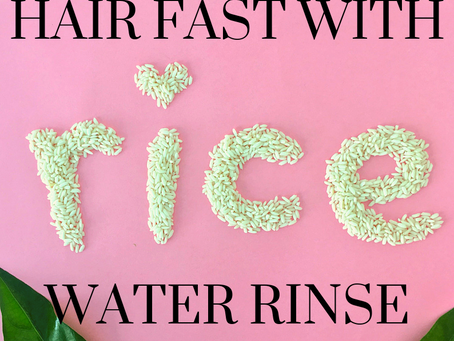 Natural Hair Growth Tip: Fermented Rice Water Review