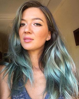 kiriko blue hair selfie.jpg