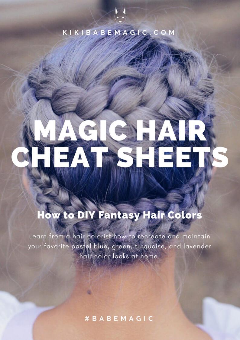 Magic Hair Color Cheat Sheets pdf cover by Kiriko Kikuchi
