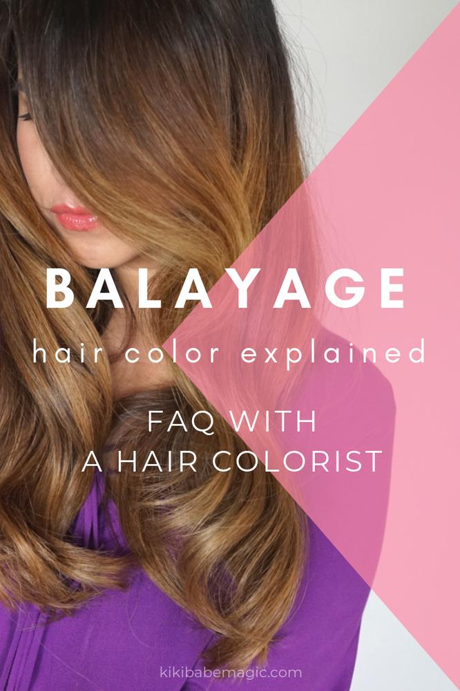 Balayage Highlights FAQ
