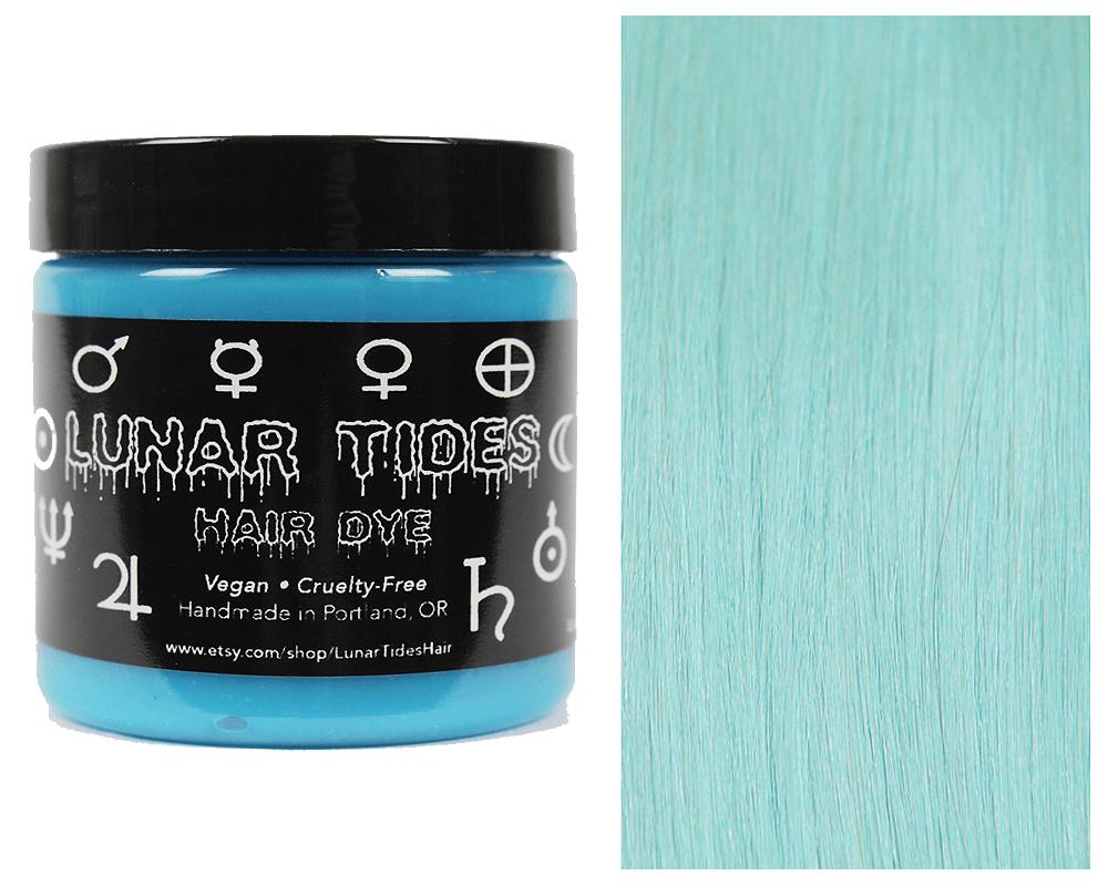 Lunar Tides Hair Dye - Sea Witch Pastel Turquoise Semi-Permanent Vegan Hair Color