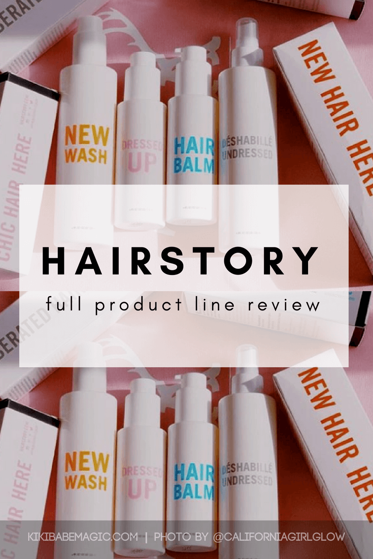 Hairstory full product line review. #haircare #newwash #cowash