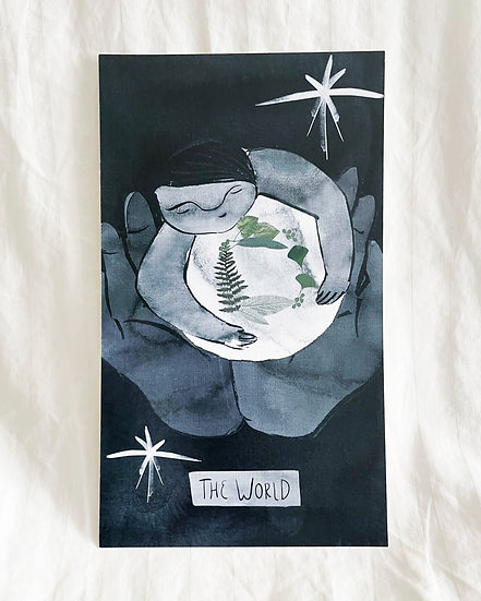 "The World - 5""x9"" Print"