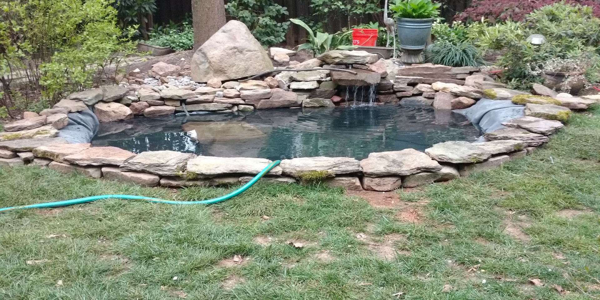 8. Pond Is Refilled