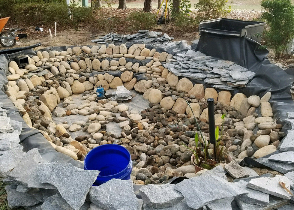 9. Placing Of Stones
