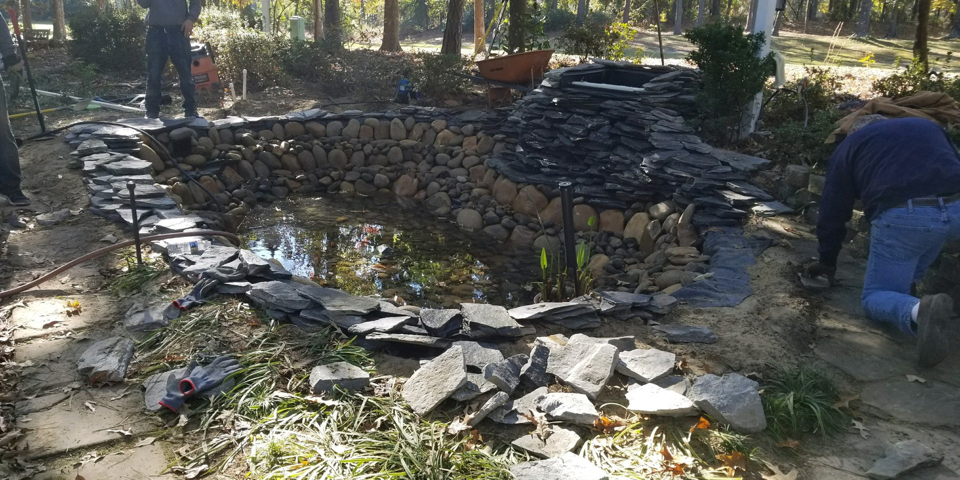 12. Outer Rim Flagstone Placement
