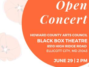 1st Beracah Open Concert (BOC)