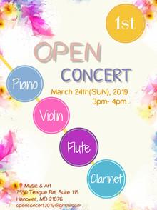 Pre- Beracah Open Concert
