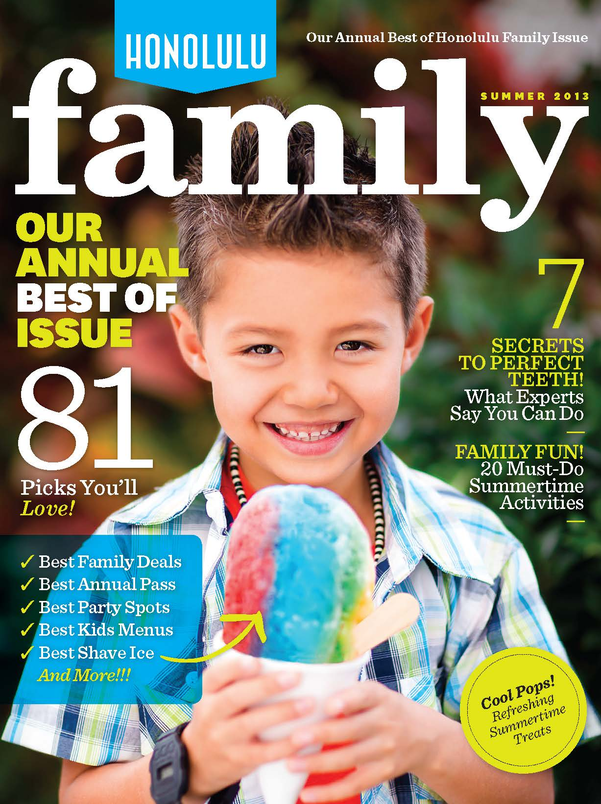 Honolulu Family Magazine Summer '13