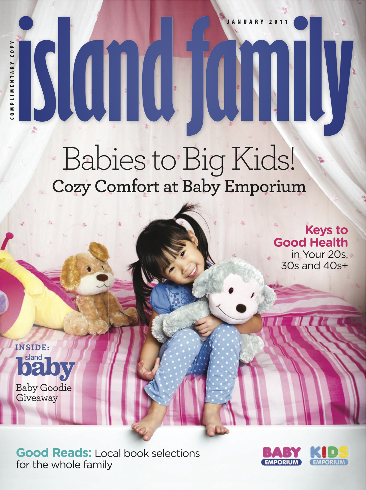 Island Family Magazine January 2011