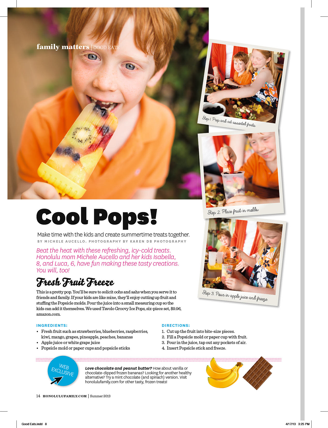 Cool Pops Food Feature