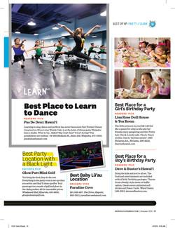 Honolulu Family Magazine Best Of '13