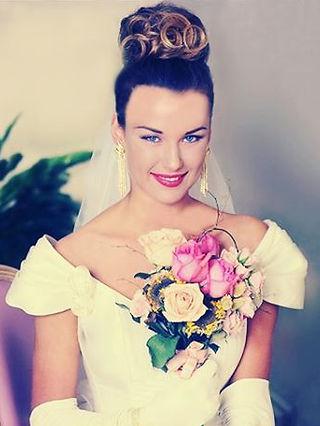 Wedding beauty editorial shoot #editoria