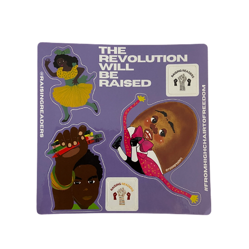 The Revolution Will Be Raised Sticker Sheet