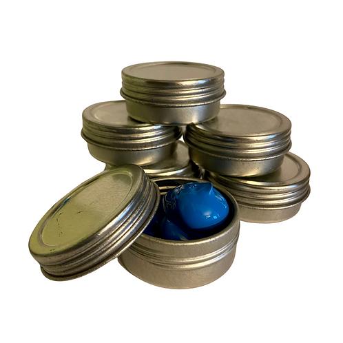 Travel paint tins