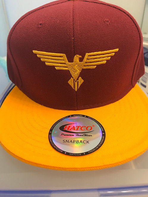 Embroidered SNAPBACK Hat (SMKAR Logo)