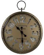 שעון קיר עגול מתכת וטבעת67X6.jpg