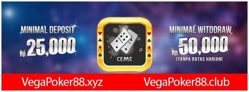 Jackpot Vegapoker Online Gampang Dapat