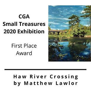 Haw River Crossing by Matthew Lawlor (1)