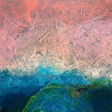"""Guava Sky No. 1"" by Adriana Ameigh"