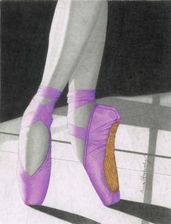 Pointe in Purple