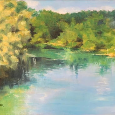 """Calm Reflections"" by Jill Yokell"