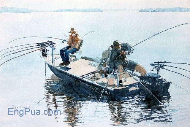 Anglers Jordan Lake