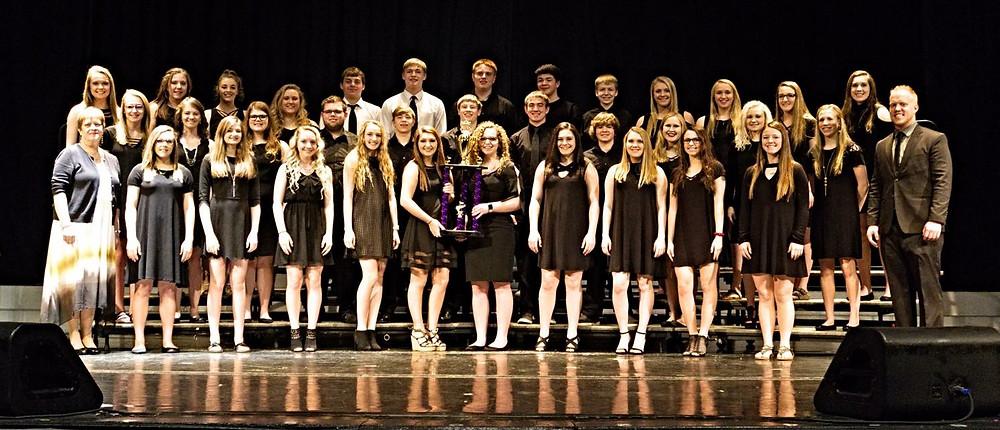 Fremont-Mills Choir | D.J. Erkenbrack | Lori Erkenbrack
