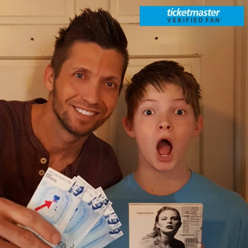 Michael Prage with son Hayden