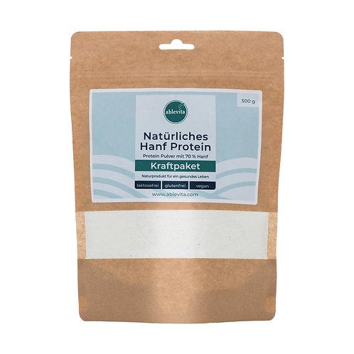Hanf Protein (70% Eiweiß, 500 g)