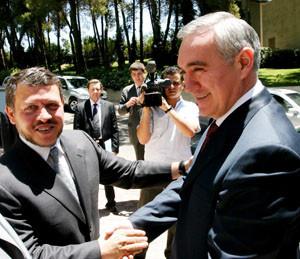 Поздравление Его Величества Короля Иордании Абдаллы II заместителю полномочного представителя Презид