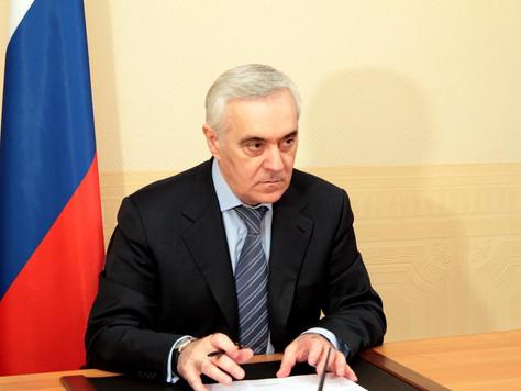 Заместитель полпреда Президента в Центральном Федеральном округе Мурат Зязиков по поручению Президен