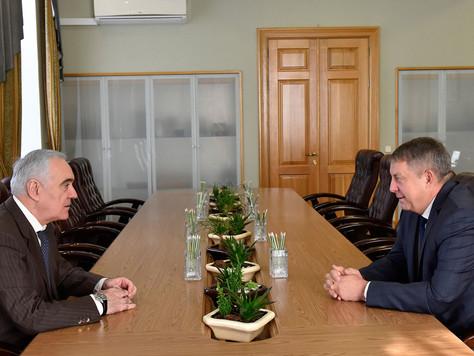 Рабочая встреча заместителя полномочного представителя Президента России в ЦФО и Губернатора Брянско