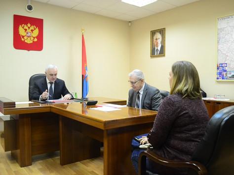 Заместитель полпреда президента в ЦФО Мурат Зязиков провел в Тамбове личный приём граждан