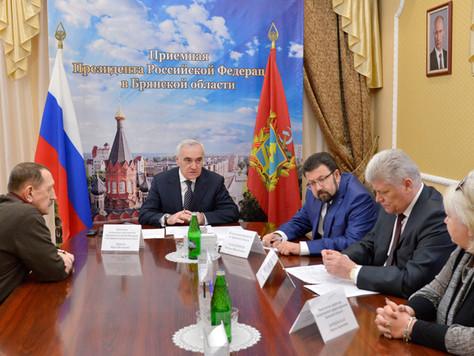 Мурат Зязиков провел прием граждан в приемной Президента