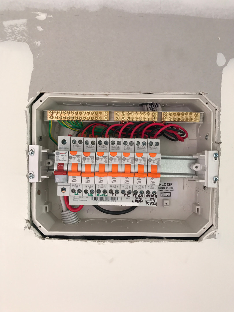 subboard switchboard load center circuit