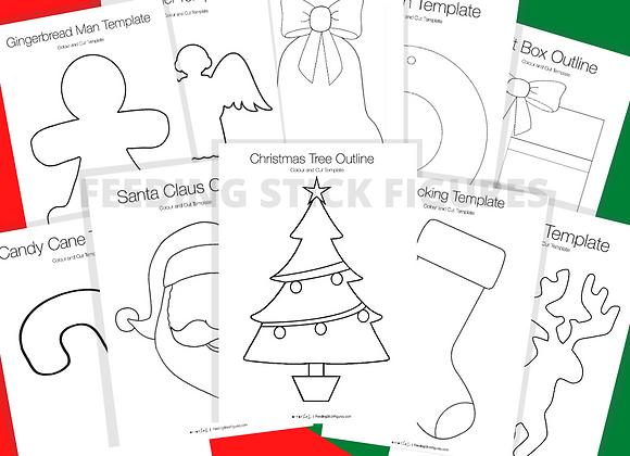 Christmas Template Bundle