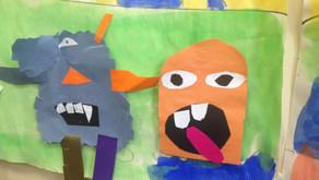 Paper Monster Cityscape Murals