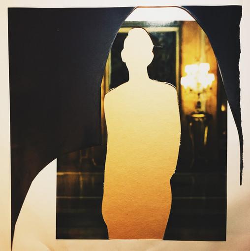 Bright Shadow In A Dark Room