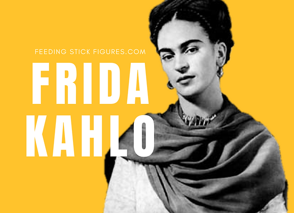 Intro to Frida Kahlo Lesson Pack