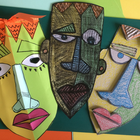 Paper Mask Making | Kimmy Cantrell Inspired